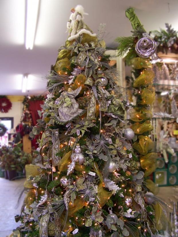 как украсить елку. фото